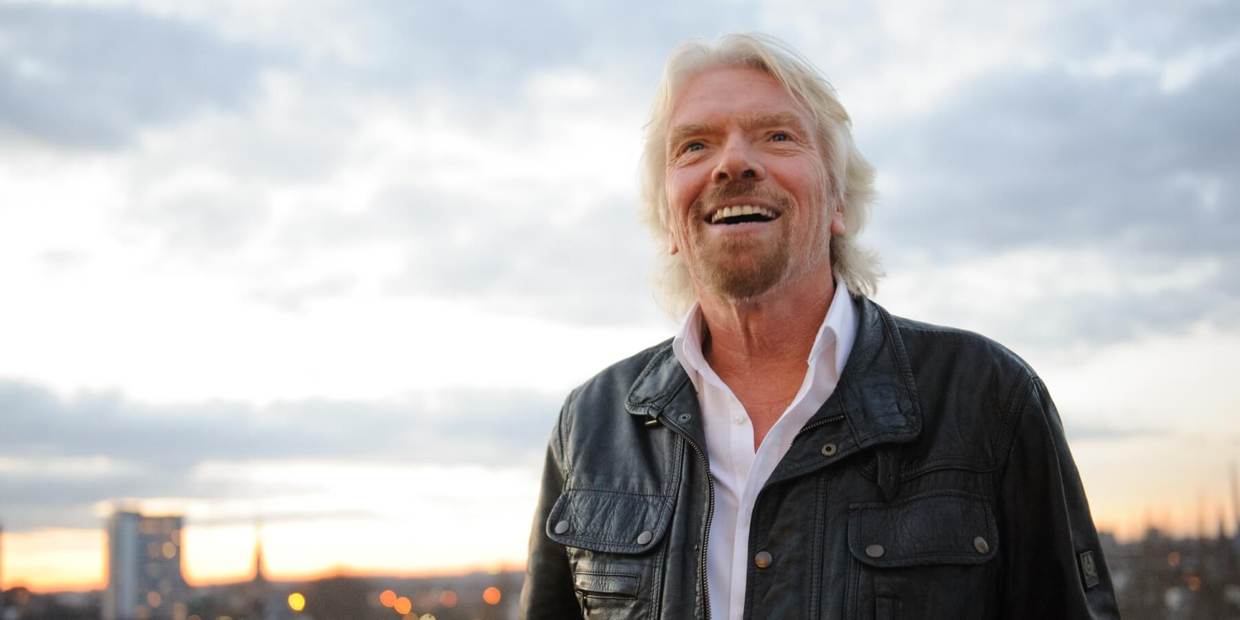 Richard Branson Banner Picture