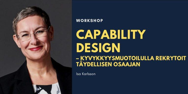 Capability Design