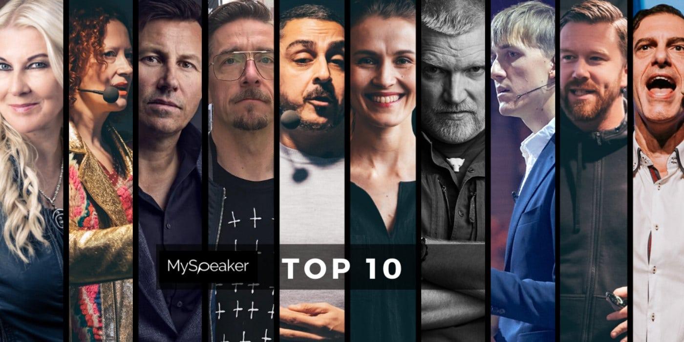 top 10 puhujat