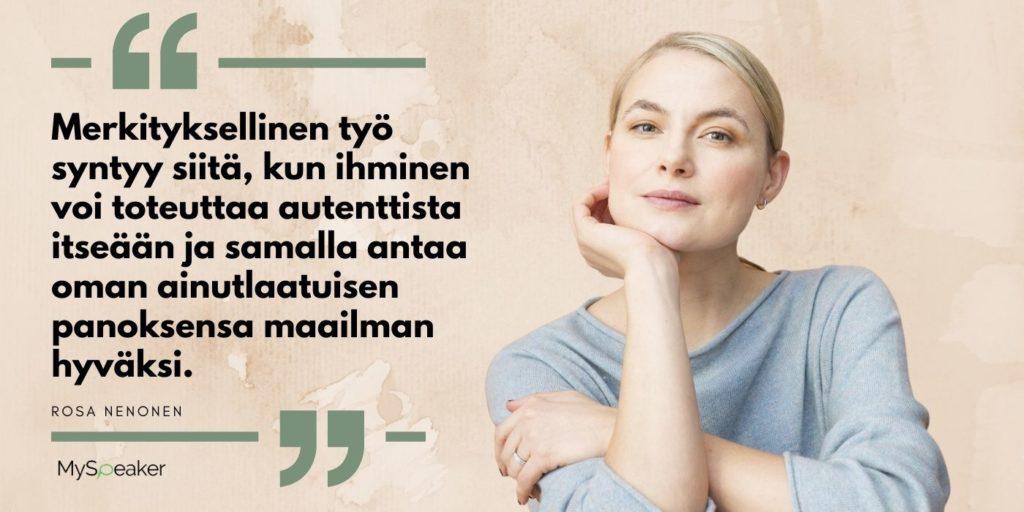 Rosa Nenonen