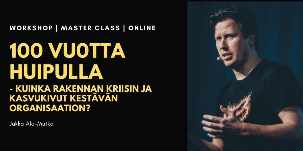 100 vuotta huipulla Jukka Ala-Mutka
