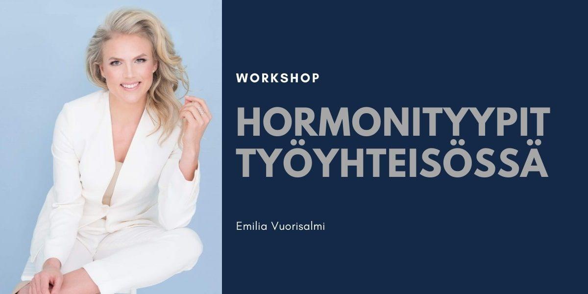 Hormonityypit työyhteisössä